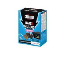 LOT POSTE APPATAGE +4 SACHETS RATICIDE APPAT ANTI RATS MULOTS RAT CAUSSADE BOITE