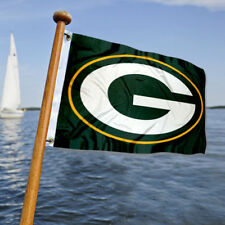 Green Bay Packers Small Mini Boat and Cart Flag