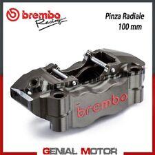 Pinza Freno Radiale Brembo Racing Sinistra da CNC P4 30/34 100 mm senza Past