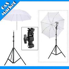 "speedlite umbrella lighting photography kit light stand+Bracket D+33"" umbrella"