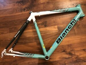 Bianchi 2006 Giro Frame and Fork 55 cm Celeste Aluminum and Carbon Fiber