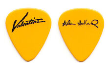 Valentine Adam Holland Signature Concert-Used Yellow Guitar Pick - 1990 Tour