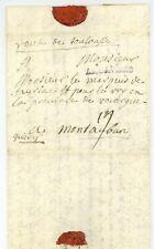 Österreichischer guerre de succession 1743 AR BAVIERE BAYERN armée lettre