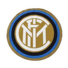 Tappeto F.C. Inter rotondo Ufficiale sagomato antiscivolo 80 cm N989