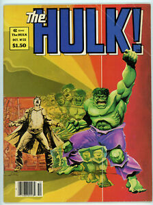 THE HULK magazine #23 (Marvel 1980) FN condition NO RES!
