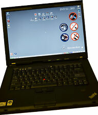 Lenovo T500 good battery with DAS XENTRY 03.2017 installed for star C4 SDConnect