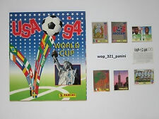 WM 1994, 10 Sticker stickers Panini World Cup 94 USA Amerika, internat. Version
