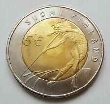 Finland 2005 5 Euro Athletics World Championships, Bimetallic coin