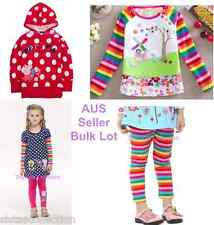 AUS Seller NEW with tags girls bulk lot peppa top tunic leggings sweater size 4