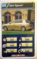Quartett Einzelkarte: Opel Signum -  Art.nr: 421