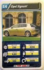 Cuarteto tarjeta individual: Opel Signum-Art. nr: 421