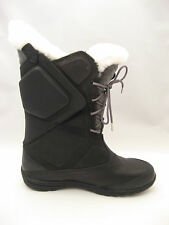 NEW Womens Columbia Snow Extreme Cold Winter Boots 8 Black Snowfall Thermo $349