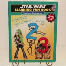 Star Wars Learning Fun Writing Numbers 1-10 Preschool Kindergarten Book