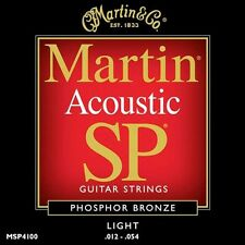 Martin SP Phosphor Bronze Acoustic Guitar Strings MSP4100 Light 12 - 54