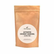 New Samaritan Health Activated Coconut Charcoal Powder Ultra fine Detox Organic
