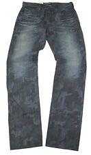 Big Star FMDIVHL 3EN-R Blue Camo Denim Jeans Sz 28/32 NWT 3 Year Enclave