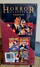 Horror Classics Collection - 4 DVD (DVD, 2003) Limited Edition Wooden Box
