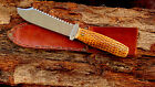 VINTAGE CASE TESTED XX FIXED BLADE HUNTING & FISHING KNIFE-BEAUTIFUL GREEN BONE
