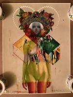 Erik Jones The Dipped Queen 2013 X/50 Signed Limiter Edition Art Print