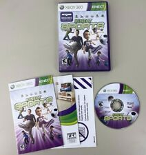 Kinect Sports Microsoft Xbox 360 BOXING TRACK & FIELD BOWLING SOCCER COMPLETE