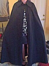 Womens GIVENCHY Paris NOUVELLE BOUTIQUE VTG Floor Length Wool Blend Cape Shawl