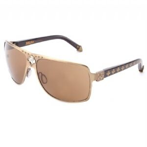 New Affliction Sunglasses Rebel Pale Gold / Gold, with Case, Tag, and Box