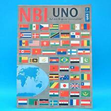 NBI 7/1966 RDA Congo-Müller ONU NEUF-Staßfurt Frank Beyer Charleston Shastri