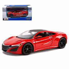 Maisto 1:24 2018 Acura Nsx Diecast Metal Model Car New in Box Red