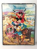 Vintage Walt Disney's Disneyland Frontierland Puzzle 1956 Whitman Publishing