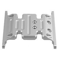 Mxfans Silver Upgrade Accessory AX80026 Center Skid Plate AXIAL SCX10 Electric