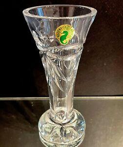 Waterford Crystal Happy Anniversary Stem Vase