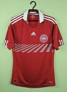 Denmark Jersey 2010/2011 Home SMALL Shirt Mens Trikot Football Soccer Adidas