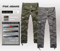 FOX JEANS Men's Kent Casual Regular Fit Cargo Pants