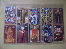 SACROSANCT Complete Set 10 Different Phone Cards from Brazil