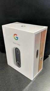 Nest Hello Smart Wi-fi Video Doorbell NC5100US *Unopened*