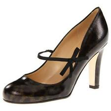 """NEW Dark Brown & Black KATE SPADE NEW YORK """"Lively"""" Patent Leather Pumps Size 7B"""