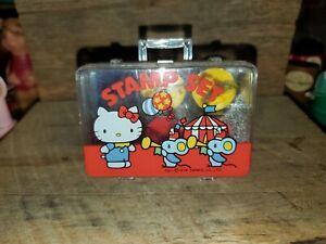 Vintage Sanrio Hello Kitty Stamp Set