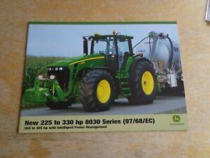 2007 JOHN DEERE 8030 SERIES BROCHURE