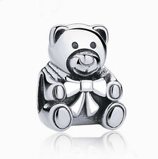 HOT European Silver plated Charm Bead Fit sterling 925 Necklace Bracelet