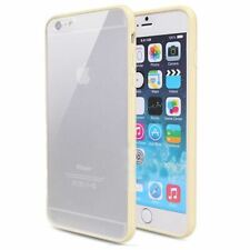 iPhone 6S iPhone 6 case Bumper Case Cover Protective Frosted Clear Hard YELLOW