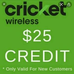 *FREE* PICK ME  $25 Cricket Wireless Referral Credit + Step by Step Instructions