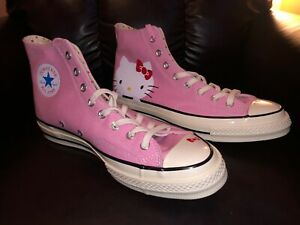 Hello Kitty X Converse Chuck Taylor 70 High Top SIZE 10 BRAND NEW AND NEVER WORN