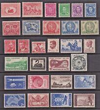 AUSTRALIA LOT of 29 Different MINT Issues from Scott 103 to Scott 311