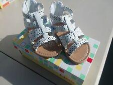 wonderkids HERA white baby sandals 11886 size 4 toddler girls