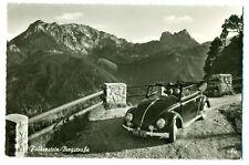(1285) Falkenstein - Bergstraße mit Aggestein VW Käfer Cabrio  Ansichtskarte