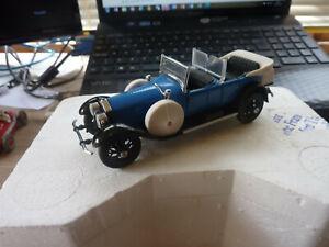 Franklin Mint Precision Models Rolls Royce Silver Ghost Phantom  Blue/Black 1/43