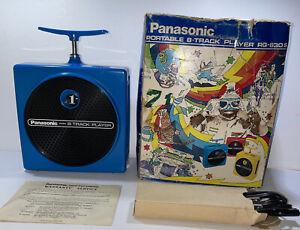 Vintage Panasonic RQ-830S Dynamite TNT 8 Track Player W/  Original Box WOW LQQK!