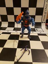 MOTU Masters of the Universe webstor with gun,grappling hook w rope,vest,