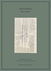 Robert Walser Microscripts (Hardcover)
