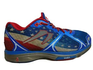 Newton Sz M 10 W 11.5 USA Fate II Running Shoe Trainers American Flag Sneaker